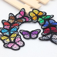 1pcs patches badge for clothing iron embroidered patch applique iron on patch DIY sewing accessories for clothes 28 optional