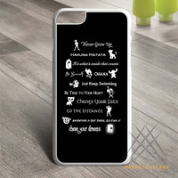 Disney Lessons Learned Mash Up case for iPhone, iPod and iPad