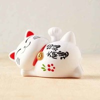 Solar Lucky Waving Cat