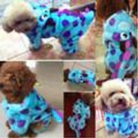 Blue Dragon Hoodie Dog Clothes & Cat Clothes
