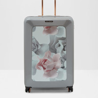 Porcelain Rose large suitcase - Pink | Bags | Ted Baker ROW
