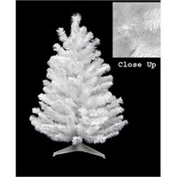 3' Snow White Pine Artificial Christmas Tree - Unlit 22173653   ChristmasCentral