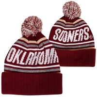 Top of the World Oklahoma Sooners Youth Striker Knit Hat - Crimson