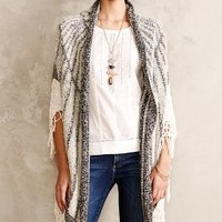 Boucle Weave Cardi by Angel of the North Neutral One Size Cardigans