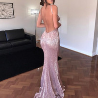 Angelina Glamour Evening Maxi dress