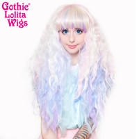 Gothic Lolita Wigs®  Rhapsody™ Collection - Pastel Rainbow -00470