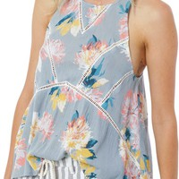 O'Neill 'Ona' Floral Print Sleeveless Top | Nordstrom