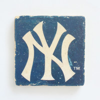 Yankees Logo Coaster