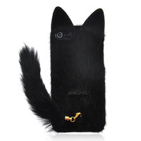 Fluffy Cat Case for iPhone 5