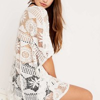 Staring at Stars Sunflower Lace Top - Urban Outfitters