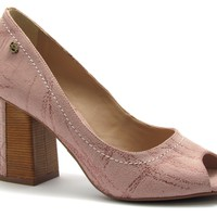 Peep Toe Block Heel Blush - Werner