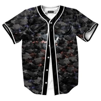 Water Color Skull Jersey