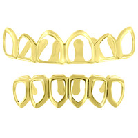 Cut Out Designer Grillz Top Bottom Set
