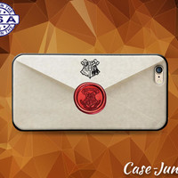 Hogwarts Letter Envelope Harry Potter Inspired Tumblr Case For iPhone 5 5s 5c and iPhone 6 and 6 Plus + and iPhone SE iPhone 7 Plus Case