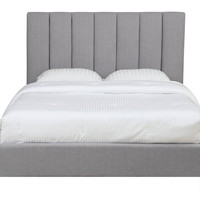 Ashbury Upholstered Bed GREY