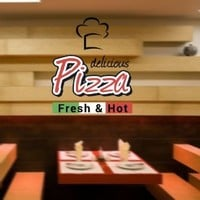 Full Color Wall Decal Pizza Italian Restaurant Pizzeria Signboard Cafe Mcol28