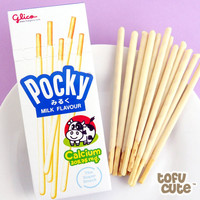 Buy Glico Pocky Biscuit Sticks - Creamy Milk Flavour at Tofu Cute