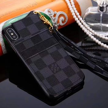Louis Vuitton LV Fashion iPhone X XR XS XS MAX Phone Cover Case For iphone 6 6s 6plus 6s-plus 7 7plus 8 8plus X
