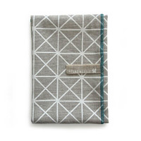 Provide - Collections - Kitchen & Dining by Piano Nobile - Hand printed tea towel in grid