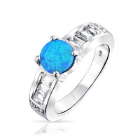 Bling Jewelry Pop of Blue Ring
