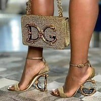 Dolce&Gabbana D&G Women Perfect high-heeled sandals