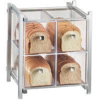 14W x 14.75D x 15.625H One by One 4 Drawer Bread Case Silver