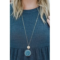 Finest Hour Necklace - Grey