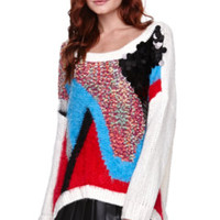 Rehab Tossed Sweater at PacSun.com