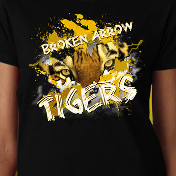 Eye Of The Broken Arrow Tigers T-Shirt