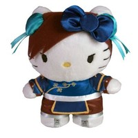 Toynami Hello Kitty Chun Li Mini Plush