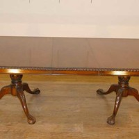 Canonbury - English Mahogany Chippendale Regency Dining Table Tables