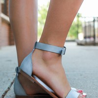 Endless Summer Sandals - Grey