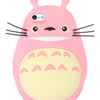 PINK TOTORO IPHONE CASE