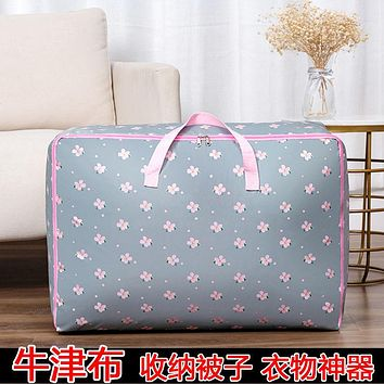 Oxford Cloth Moving Guards, Clothes, Clothes, Quilts, Storage And Sorting Bags, Tide Cotton Bags For Packing Luggage D