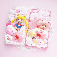 CUSTOM MADE  Sailor Moon Kawaii Whipped by JoliePetiteDecoden