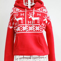 CABIN LIFER HOODIE (Red) SALE PRICE | Paper Kranes