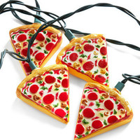 Glowing Out for Pizza String Lights   Mod Retro Vintage Decor Accessories   ModCloth.com