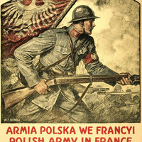 WWI Poster Polish Army In France / W. T. Benda.