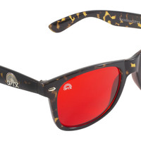 Root Chakra Red / Leopard Frame