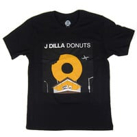 Stones Throw: J. Dilla Donuts Shirt (Illustrated Version) - Black