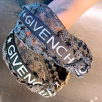 GIVENCHY Summer Fashion Women Lace Knot Headwrap Headband Head Hair Band