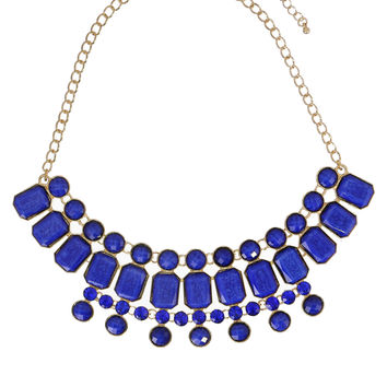 Alexandria Lapis Necklace