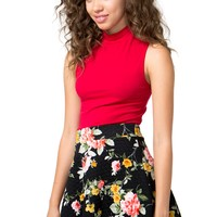Petal Pusher Skater Skirt