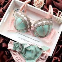 sexy lingerie,bra brief sets, three-row Lace Embroidery underwear,sexy young girl bra set,france brand bra sets
