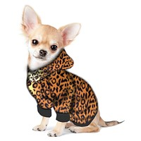 Chihuahua/Yorkie Hoodie Sweatshirt - Fits 5 to 9 LB Dog - Over 10 Patterns to Choose From!