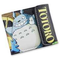 Totoro Short Style Colorful Anime Wallet