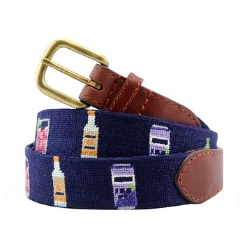 Transfusion Needlepoint Belt by Smathers and Branson