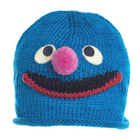 Knitwit Grover Knit Embroidered Beanie Hat