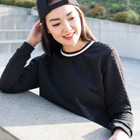 Cream of the Crop Sweater - Black