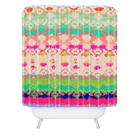 Aimee St Hill Eva Spot Shower Curtain
